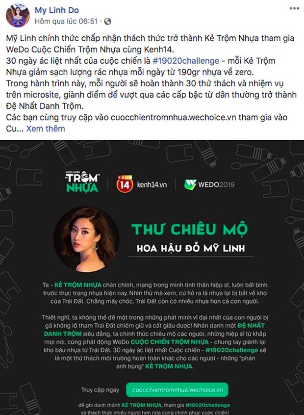Cuộc chiến trộm nhựa hot lên từng giờ: Đỗ Mỹ Linh, Lan Khuê cùng hàng loạt nghệ sĩ đình đám xác nhận tham gia! - Ảnh 1.