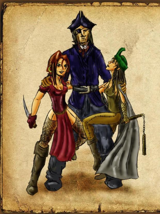 Những tên cướp biển đặc biệt chất trong lịch sử, còn hơn cả Cướp biển vùng Caribbean - Ảnh 3.