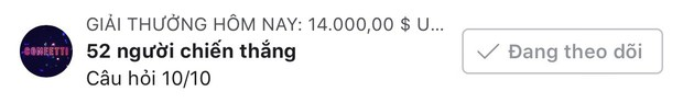 1 người nhận được hơn 6 triệu đồng, số tiền thưởng kỷ lục của Confetti Vietnam đây rồi! - Ảnh 2.