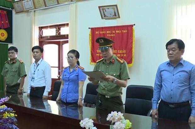 Chưa thể kết luận được Giám đốc Sở GD Sơn La nhờ vả nâng điểm thi - Ảnh 1.