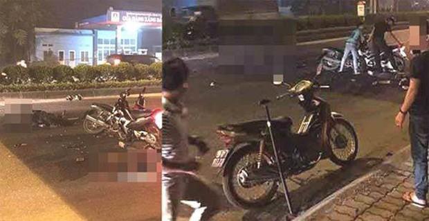 Hà Nội: Khởi tố vụ xe máy kẹp ba gây tai nạn làm Đại úy CSCĐ tử vong - Ảnh 1.