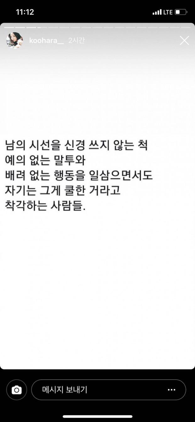 Netizen tìm lại những chia sẻ là nguyên nhân dẫn đến ý định tự tử đầy đau đớn của Goo Hara trong quá khứ - Ảnh 8.