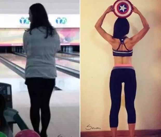 Từ 70kg xuống 47kg, cô nàng người Hàn gây bất ngờ vì kế hoạch tự lấy lại vóc dáng sau sinh tại nhà quá hoàn hảo - Ảnh 22.