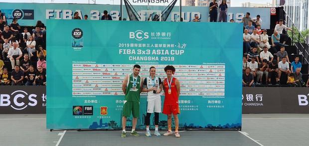 FIBA 3x3 Asia Cup 2019, Shoot-Out: Ném đỉnh như Stephen Curry, nữ VĐV xinh như mộng đến từ Kazakhstan vượt Khoa Trần của Việt Nam để giành ngôi vị hạng nhất - Ảnh 3.