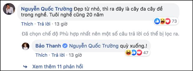 Không chỉ trên phim, cặp đôi oan gia Quốc Trường và Bảo Thanh còn liên tục tương tác với nhau trên mạng khiến fan rần rần thích thú - Ảnh 3.