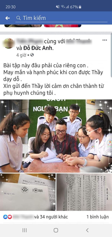 Hãy cứ gọi cho thầy, thầy vẫn luôn ở đây, 6 bài tập về nhà của thầy giáo Sài Gòn khiến học sinh bật khóc nức nở - Ảnh 5.