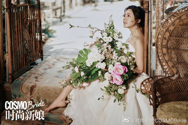 Tiết lộ bộ ảnh cưới đẹp như mơ của cặp đôi Hoa - Hàn Vu Hiểu Quang và Choo Ja Hyun trước ngày hôn lễ đang gần kề - Ảnh 3.