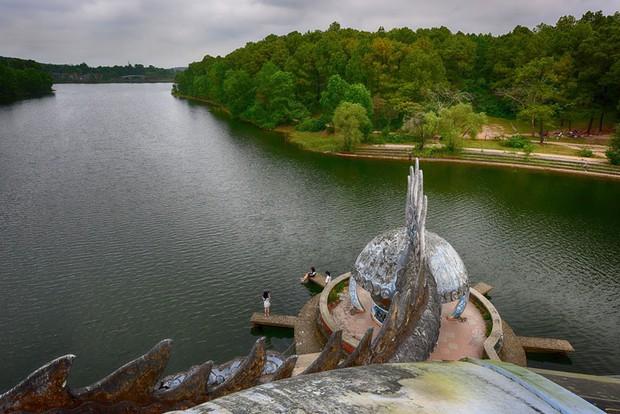 """Công viên nước bị bỏ hoang ở Huế bỗng dưng """"hot"""" trở lại sau 15 năm: Bí ẩn """"ma mị"""" mãi vẫn chưa có lời giải đáp  - Ảnh 6."""