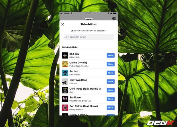 Cách kích hoạt tính năng bài hát yêu thích trên trang Facebook cá nhân - Ảnh 5.