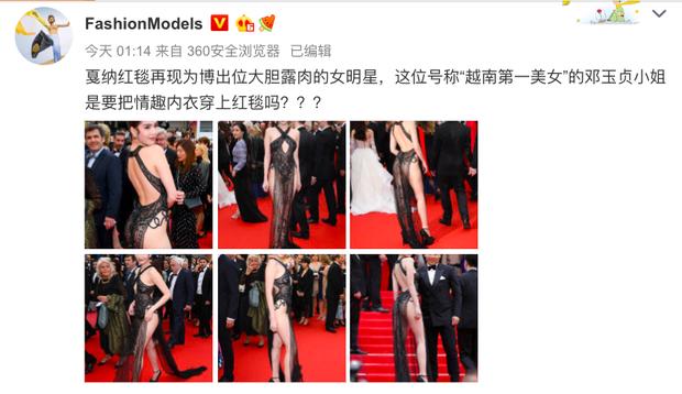 Truyền thông và netizen nước ngoài phản ứng gay gắt về Ngọc Trinh tại Cannes: Báo Anh, Pháp còn không căng bằng xứ Trung - Ảnh 7.