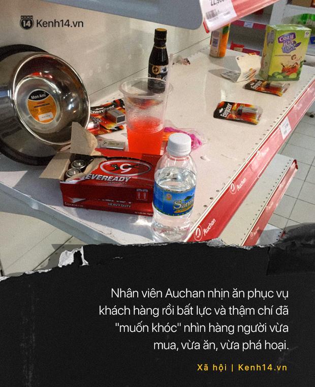Khi người ta phũ phàng đáp lại lời tạm biệt của Auchan như cách mót hoa và hôi bia trên đường phố - Ảnh 3.
