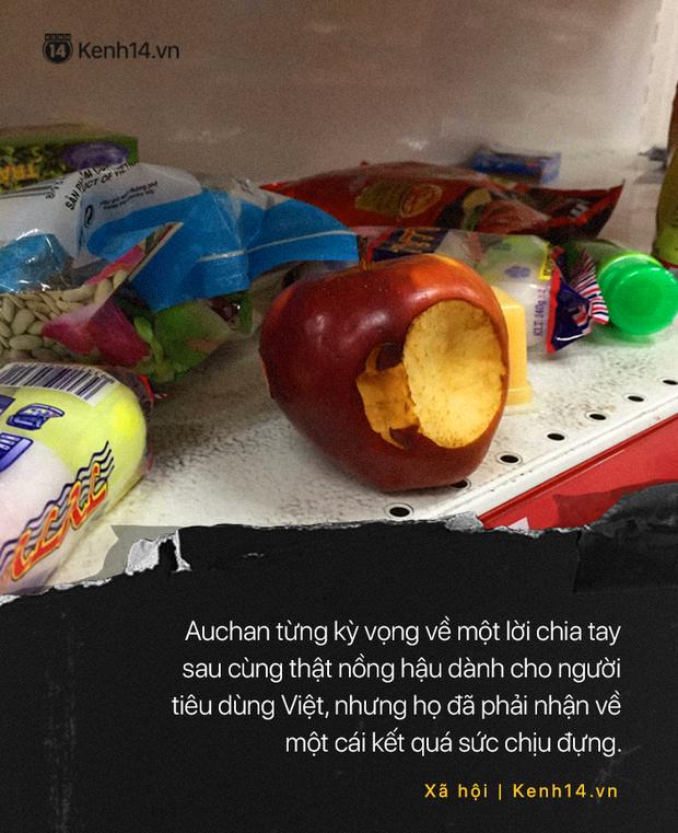 Khi người ta phũ phàng đáp lại lời tạm biệt của Auchan như cách mót hoa và hôi bia trên đường phố - Ảnh 11.