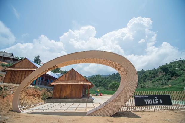 Chùm ảnh: Cận cảnh ngôi trường tuyệt đẹp giữa núi rừng Tri Lễ  - Ảnh 2.