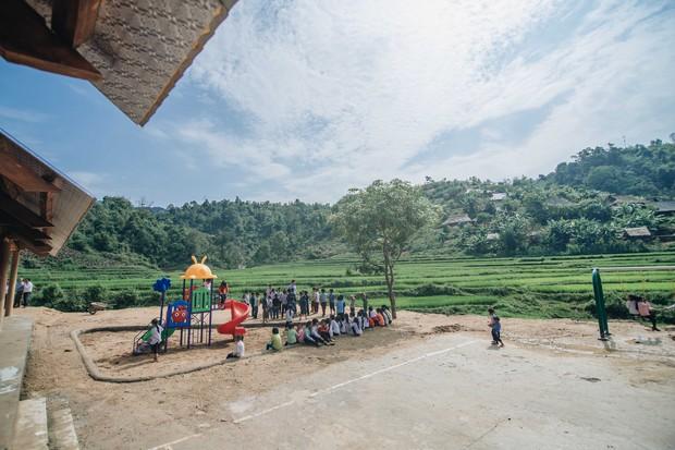 Chùm ảnh: Cận cảnh ngôi trường tuyệt đẹp giữa núi rừng Tri Lễ  - Ảnh 6.