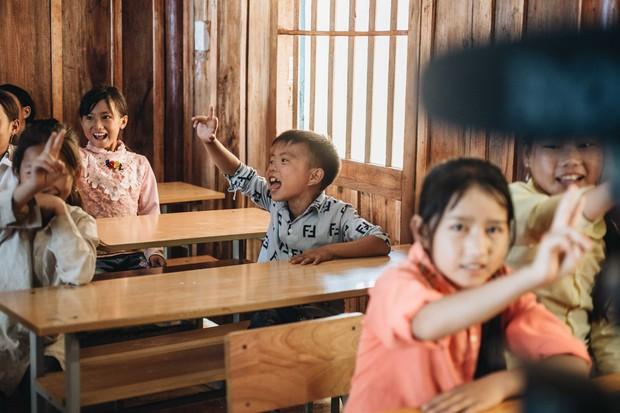 Chùm ảnh: Cận cảnh ngôi trường tuyệt đẹp giữa núi rừng Tri Lễ  - Ảnh 11.
