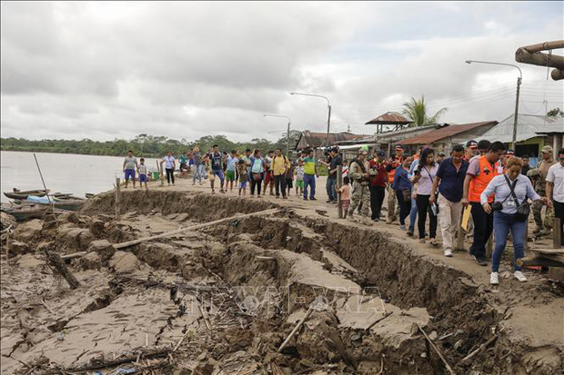 Nhiều thương vong trong trận động đất mạnh nhất thế giới kể từ đầu năm - Ảnh 1.