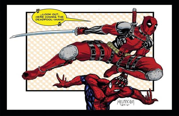 Thánh bựa Deadpool và nhện nhí lắm mồm Spider-Man có gì hot mà ai cũng hóng đẩy thuyền dữ vậy? - Ảnh 1.