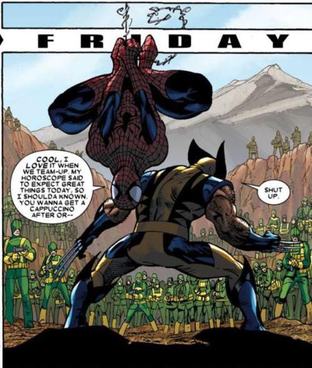 Thánh bựa Deadpool và nhện nhí lắm mồm Spider-Man có gì hot mà ai cũng hóng đẩy thuyền dữ vậy? - Ảnh 2.