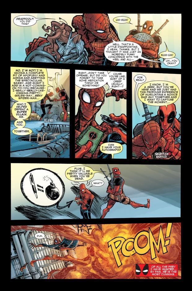 Thánh bựa Deadpool và nhện nhí lắm mồm Spider-Man có gì hot mà ai cũng hóng đẩy thuyền dữ vậy? - Ảnh 12.