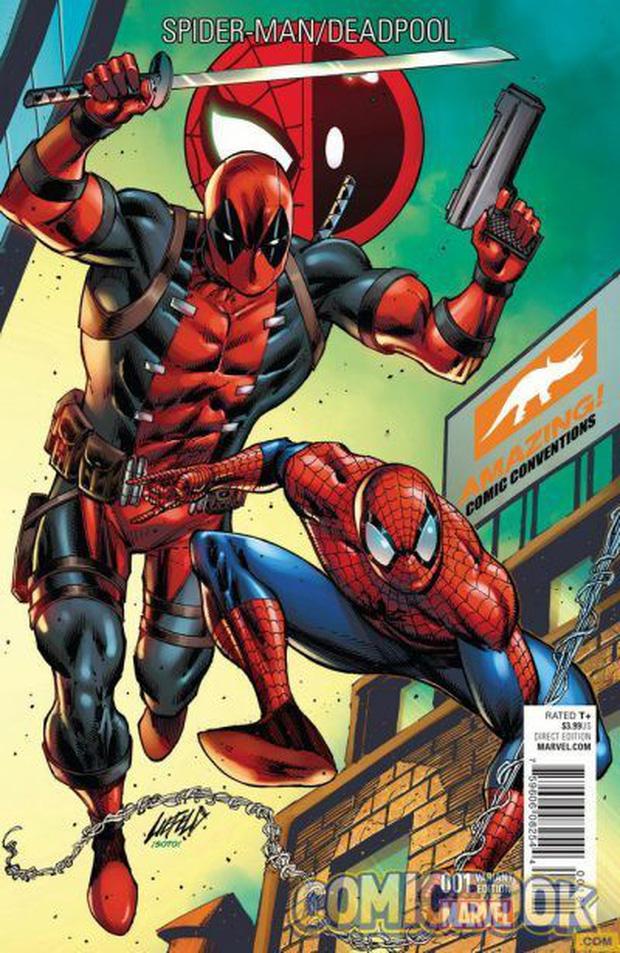 Thánh bựa Deadpool và nhện nhí lắm mồm Spider-Man có gì hot mà ai cũng hóng đẩy thuyền dữ vậy? - Ảnh 3.