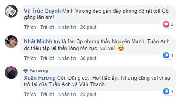 Fan Việt háo hức với sự trở lại của Tuấn Anh, thắc mắc tại sao Đức Chinh có mặt - Ảnh 5.