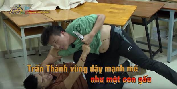 Trấn Thành vs. Jun Phạm: Ai sở hữu... bụng mỡ nhất Running Man Việt? - Ảnh 1.