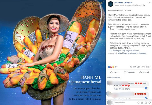 Sau bộ trang phục bánh mì quốc dân của H'Hen Niê, liệu Hoàng Thuỳ có cơ hội diện cà phê sữa và mì Quảng lên sân khấu? - Ảnh 2.