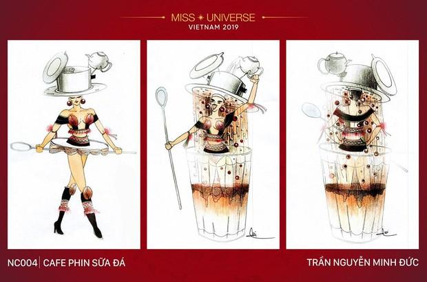 Sau bộ trang phục bánh mì quốc dân của H'Hen Niê, liệu Hoàng Thuỳ có cơ hội diện cà phê sữa và mì Quảng lên sân khấu? - Ảnh 5.