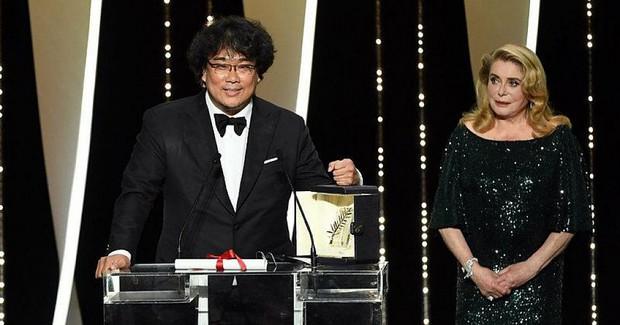 Kí Sinh Trùng xứ Hàn tự hào giành thẳng Cành Cọ Vàng về tay giữa Cannes, Aladdin lẫn Godzilla tuần sau hãy coi chừng! - Ảnh 1.