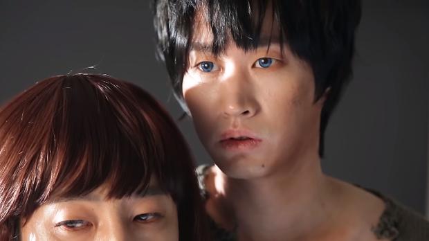 Làm parody sống động hơn bản thật, Song Hye Kyo sẽ khóc thét khi thấy chồng mình bị đổi diện mạo như thế này! - Ảnh 5.