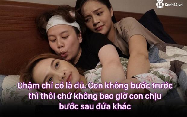 12 màn lộng ngôn, chửi như hát hay của rapper Bảo Thanh trong Về Nhà Đi Con: Tiện đường cũng không đi với tiện nhân! - Ảnh 10.