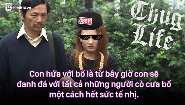 12 màn lộng ngôn, chửi như hát hay của rapper Bảo Thanh trong Về Nhà Đi Con: Tiện đường cũng không đi với tiện nhân! - Ảnh 11.
