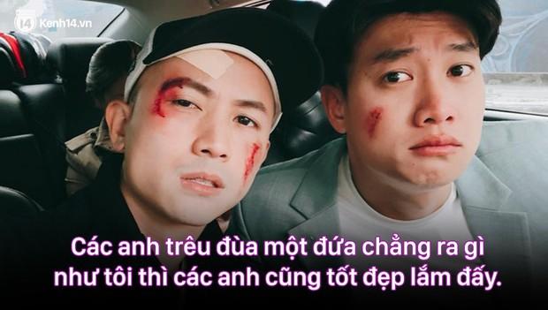 12 màn lộng ngôn, chửi như hát hay của rapper Bảo Thanh trong Về Nhà Đi Con: Tiện đường cũng không đi với tiện nhân! - Ảnh 5.