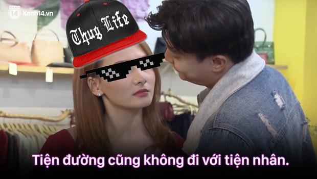 12 màn lộng ngôn, chửi như hát hay của rapper Bảo Thanh trong Về Nhà Đi Con: Tiện đường cũng không đi với tiện nhân! - Ảnh 6.