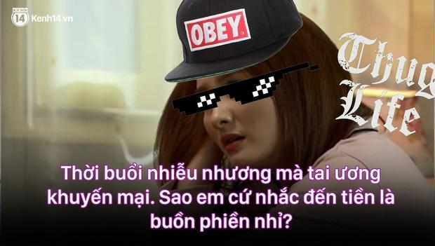 12 màn lộng ngôn, chửi như hát hay của rapper Bảo Thanh trong Về Nhà Đi Con: Tiện đường cũng không đi với tiện nhân! - Ảnh 9.