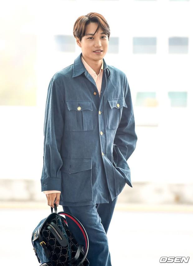 Dàn idol Kpop khiến sân bay náo loạn: Nữ thần Kpop Tzuyu (TWICE) tuột dốc khó đỡ, bị nữ diễn viên 9x nhà SM lấn át - Ảnh 14.