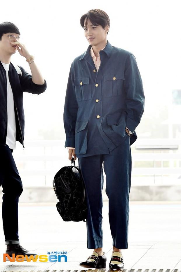 Dàn idol Kpop khiến sân bay náo loạn: Nữ thần Kpop Tzuyu (TWICE) tuột dốc khó đỡ, bị nữ diễn viên 9x nhà SM lấn át - Ảnh 13.