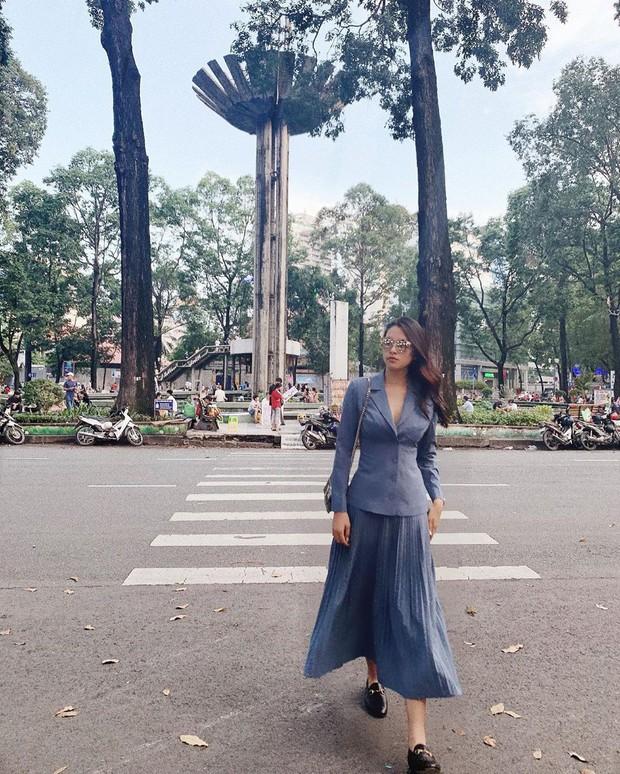 Chân váy xếp ly vẫn chưa hạ nhiệt, được hết thảy các sao nữ Việt diện tuyệt xinh và nàng công sở phải học theo ngay - Ảnh 11.