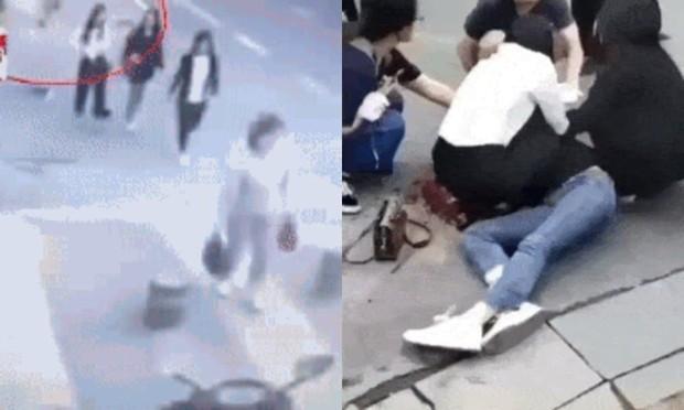 Người phụ nữ đang đi dạo tự nhiên bị một người đàn ông đâm liên tiếp giữa đường và nguyên nhân gây tranh cãi trên MXH - Ảnh 3.