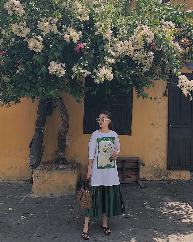 Chân váy xếp ly vẫn chưa hạ nhiệt, được hết thảy các sao nữ Việt diện tuyệt xinh và nàng công sở phải học theo ngay - Ảnh 9.