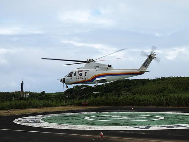 Nhật Bản: Trong miệng núi lửa đang âm ỉ vẫn có bãi đáp trực thăng và 200 người dân sinh sống - Ảnh 10.