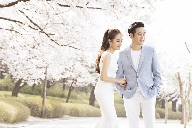 Cận ngày trọng đại, Dương Khắc Linh - Ngọc Duyên tung trọn bộ ảnh cưới lãng mạn tại Hàn Quốc - Ảnh 1.