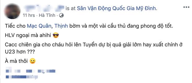 Người đại diện của Bùi Tiến Dũng: Lên tuyển để dự bị giải lởm hay suất chính ở U23 Việt Nam hơn? - Ảnh 3.
