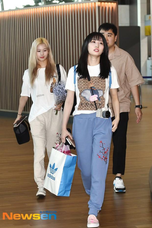 Dàn idol Kpop khiến sân bay náo loạn: Nữ thần Kpop Tzuyu (TWICE) tuột dốc khó đỡ, bị nữ diễn viên 9x nhà SM lấn át - Ảnh 10.