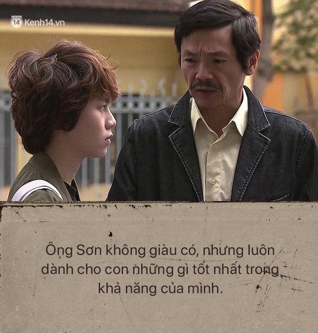 Ông Sơn (Về nhà đi con) chính là ví dụ điển hình cho câu: Bố có thể không hoàn hảo nhưng vĩnh viễn là người thương con nhất - Ảnh 3.