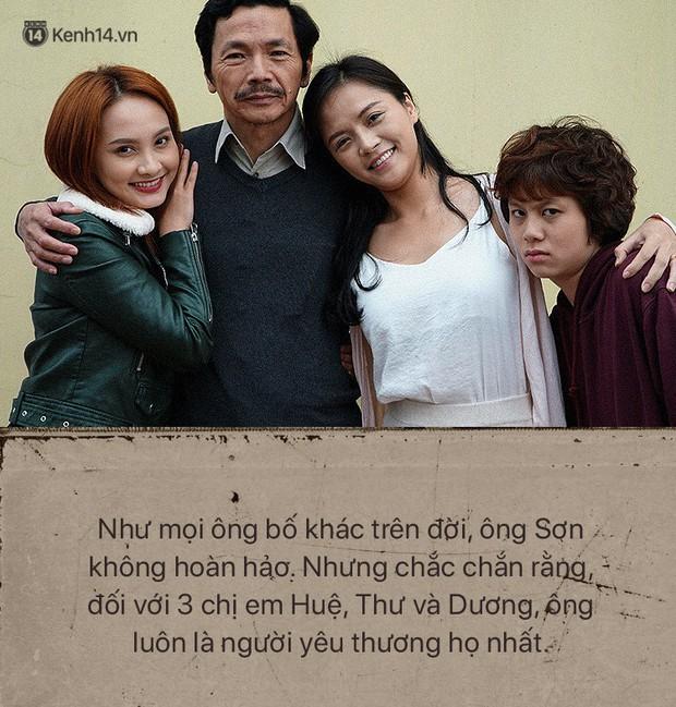 Ông Sơn (Về nhà đi con) chính là ví dụ điển hình cho câu: Bố có thể không hoàn hảo nhưng vĩnh viễn là người thương con nhất - Ảnh 5.