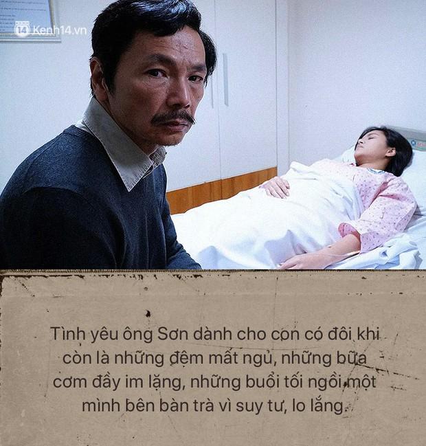 Ông Sơn (Về nhà đi con) chính là ví dụ điển hình cho câu: Bố có thể không hoàn hảo nhưng vĩnh viễn là người thương con nhất - Ảnh 2.