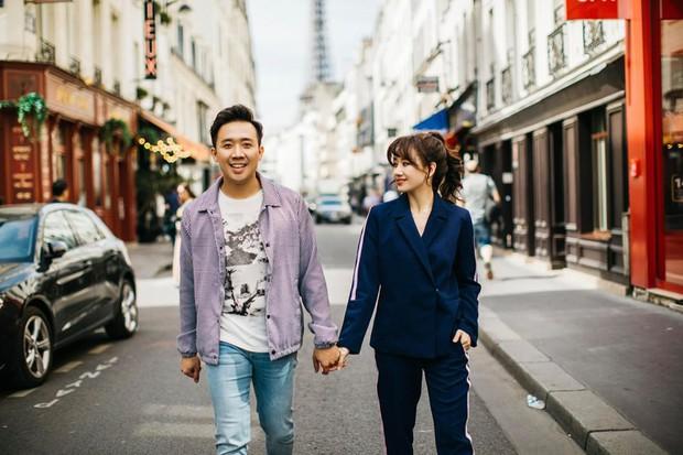 Trấn Thành hào hứng khoe khoảnh khắc vi vu trời Tây cùng Hari Won, nhưng chi tiết bụng to vượt mặt mới là tâm điểm gây chú ý - Ảnh 5.