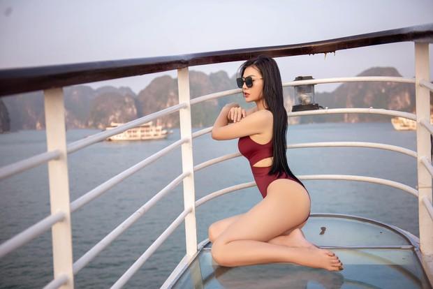 Thanh Hương Quỳnh búp bê tung trọn bộ bikini gợi cảm, khoe vòng 1 sexy ná thở - Ảnh 4.