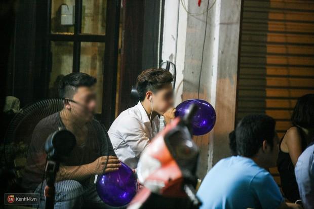 Cấm sử dụng bóng cười tại Hà Nội - Ảnh 1.